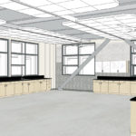 Rendering of STEAM Classroom