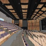 Rendering of Alan Harvey Theater Interior